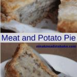 A slice of savoury pie.