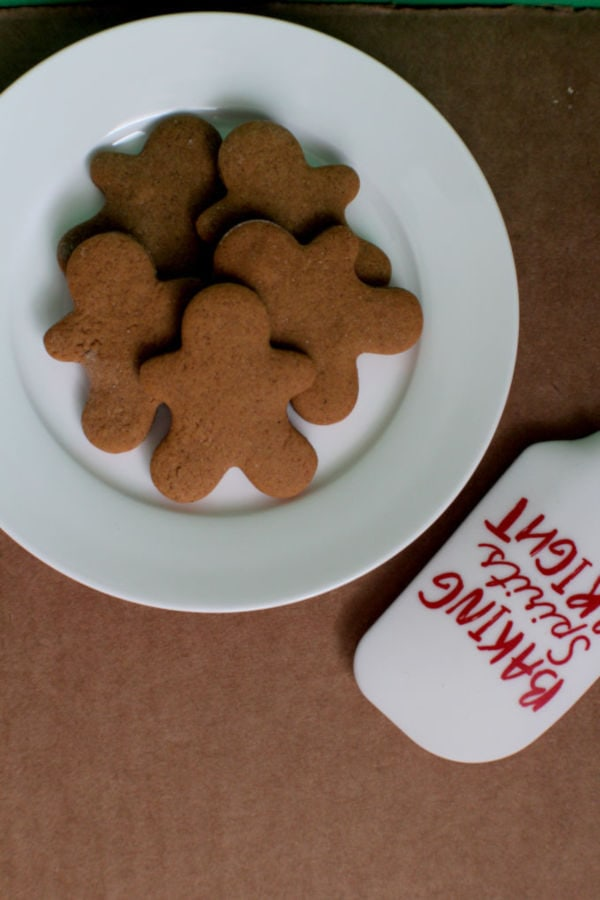 Perfectly Spiced Gingerbread Cookies | Nina Kneads to Bake