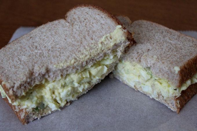 Simple Egg Salad Sandwich | Nina Kneads to Bake