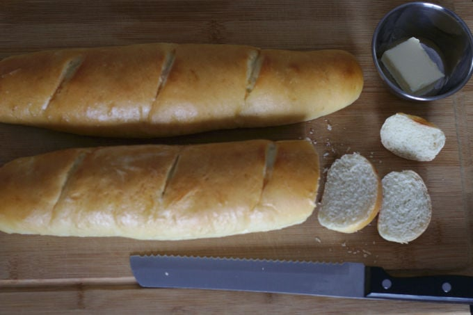 Soft French Baguette | Nina Kneads to Bake